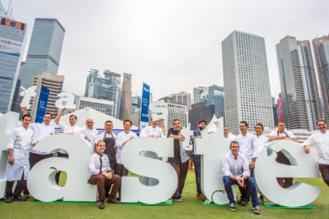 Chefs gathered to celebrate the Taste of Hong Kong  Photo:  Allen Kiely