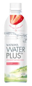 Watson's Water PLUS 全新士多啤梨味果味水