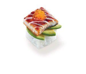 炙燒鰻魚牛油果 ($22)c